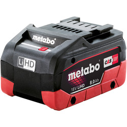 Metabo Metabo 18V Li-Ion High Demand Battery 8.0Ah - 60683 - from Toolstation