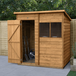 Forest Forest Garden Overlap Dip Treated Shed 6' x 4' - 60728 - from Toolstation