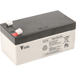 Sealed Lead Acid Battery 12V 3.2Ah 134 x 67 x 67mm - 60989 - from Toolstation