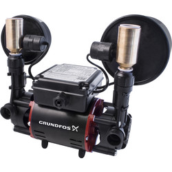 Grundfos Grundfos STR2 Regenerative Twin Shower Pump 2.0 bar - 61000 - from Toolstation