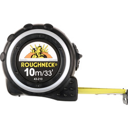 Roughneck Roughneck Pro Tape Measure 10m - 61070 - from Toolstation