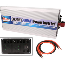 Streetwize Streetwize Power Inverter 3000W - 61074 - from Toolstation