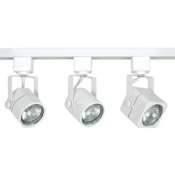Meridian Lighting GU10 Track Light Round - 61089 - from Toolstation