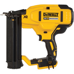 DeWalt DeWalt DCN680N-XJ 18V XR Brushless 18Ga Brad Nailer Body Only - 61091 - from Toolstation