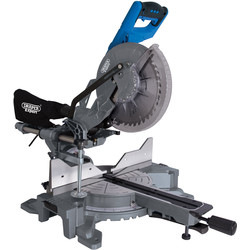 Draper Expert Draper 255mm 2000W Double Bevel Sliding Compound Mitre Saw 230V - 61101 - from Toolstation