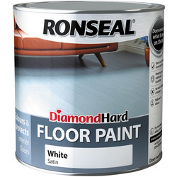 Ronseal Ronseal Diamond Hard Floor Paint White 2.5L - 61117 - from Toolstation