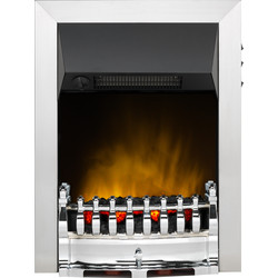 Dimplex Dimplex Balmoral Ecolite Chrome Inset Electric Fire  - 61135 - from Toolstation