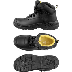 Amblers Safety Amblers FS220 Waterproof Safety Boots Size 12 - 61191 - from Toolstation
