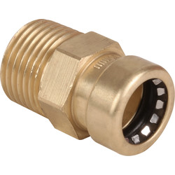 "Pegler Yorkshire Pegler Yorkshire Tectite Sprint MI Coupling 15mm x 1/2"" - 61201 - from Toolstation"