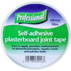 Plasterboard Joint/Scrim Tape 48mm x 90m - 61291 - from Toolstation