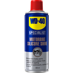 WD-40 WD-40 Specialist Motorbike Silicone Shine 400ml - 61318 - from Toolstation