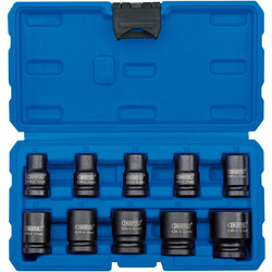 Draper Draper 1/2 Inch Square Drive Impact Socket Set  - 61348 - from Toolstation