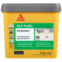 Sika Sika FastFix All Weather Jointing Compound Charcoal 15kg - 61352 - from Toolstation