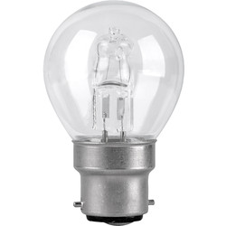 Corby Lighting Corby Lighting Halogen Mini Globe Dimmable Lamp 42W B22/BC 630lm - 61564 - from Toolstation