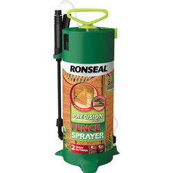Ronseal Ronseal Precision Finish Fence Pump Sprayer 5L - 61614 - from Toolstation