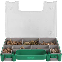 Spax Spax Yellox Mini Sorta Screw Case Assorted - 61635 - from Toolstation