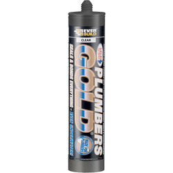 Everbuild Plumbers Gold Sealant & Adhesive 290ml Clear - 61679 - from Toolstation
