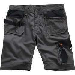 "Scruffs Scruffs Trade Shorts 34"" Slate - 61692 - from Toolstation"