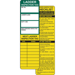 Spectrum Industrial Ladder Tag Kit Safety Inserts - 61727 - from Toolstation
