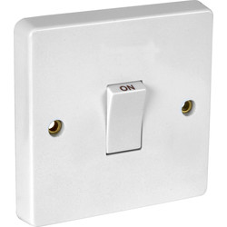 Crabtree 20A Double Pole Switch