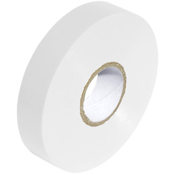 Insulation Tape White 19mm x 33m