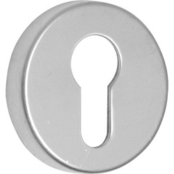 Euro Escutcheon Set Satin Nickel