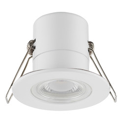 Luceco LED 5W Integrated Dimmable Fire Rated IP65 Downlight