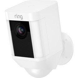 Ring by Amazon Ring Battery Spotlight Camera 1080P White - 62112 - from Toolstation