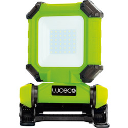 Luceco Luceco Rechargeable Clamp Worklight IP54 15W 1300lm - 62159 - from Toolstation