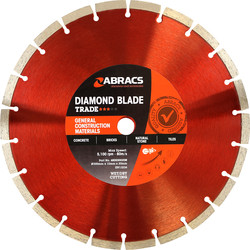 Abracs Diamond Blade GCM Trade 300mm x 10mm x 20mm