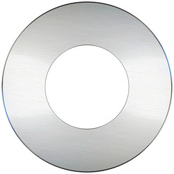 Luceco Luceco FType Bezel Brushed Steel - 62190 - from Toolstation