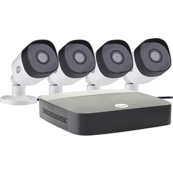 Yale Smart Living Yale 1080P CCTV Kit SV-4C-4ABFX-2 4 x Camera - 62277 - from Toolstation