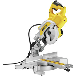 DeWalt DeWalt DWS777 XPS 216mm Sliding Mitre Saw 110V - 62334 - from Toolstation