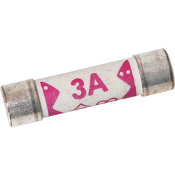 Plug Top Fuse 3A - 62399 - from Toolstation