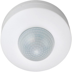 Zinc 360° Ceiling SM 3 Sensor PIR White - 62428 - from Toolstation