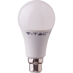 V-TAC V-TAC Smart LED GLS Bulb 10W A60 BC RGB+W 806lm - 62442 - from Toolstation