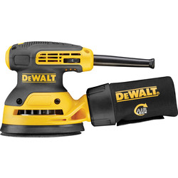 DeWalt DeWalt DWE6423-GB 280W 125mm Random Orbital Sander 110V - 62478 - from Toolstation