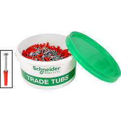Schneider Electric Schneider Fixings Trade Tub 1000 Piece - 62529 - from Toolstation