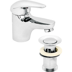 Barra Basin Mixer Tap  - 62574 - from Toolstation