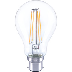 Integral LED Integral LED Filament GLS Dimmable Lamp 7W BC (B22d) 806lm - 62674 - from Toolstation
