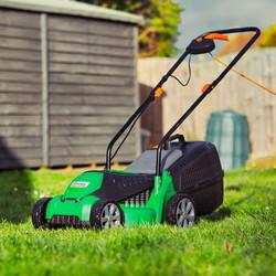 Hawksmoor 1200W 32cm Electric Lawnmower