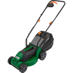 Hawksmoor Hawksmoor 1200W 32cm Electric Lawnmower 230V - 62767 - from Toolstation
