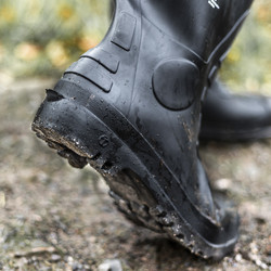 Amblers FS90 Black Safety PVC Rigger Boots