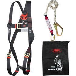 JSP JSP Spartan™ Single Tail Fall Arrest Kit 1.8m Lanyard - 62930 - from Toolstation