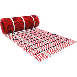 Twin Conductor Underfloor Heating Mat 5.0m x 0.5m (2.5m2)
