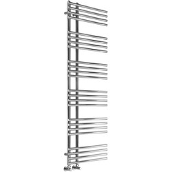 Reina Elisa Towel Radiator 1000 x 500mm 2269Btu - 62968 - from Toolstation