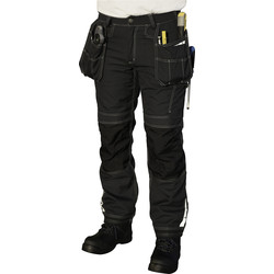 "Dickies Dickies Eisenhower Extreme Trouser 30"" R Black - 62990 - from Toolstation"