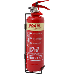 Foam Fire Extinguisher 1L Rating 5A 21B