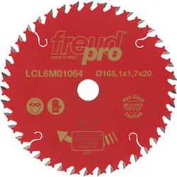FreudPro Freud Pro TCT Circular Saw Blade 165 x 20mm x 40T - 63060 - from Toolstation