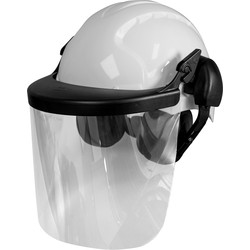 JSP JSP EVO3 Machinery Helmet with Ear Defenders & Visor  - 63076 - from Toolstation